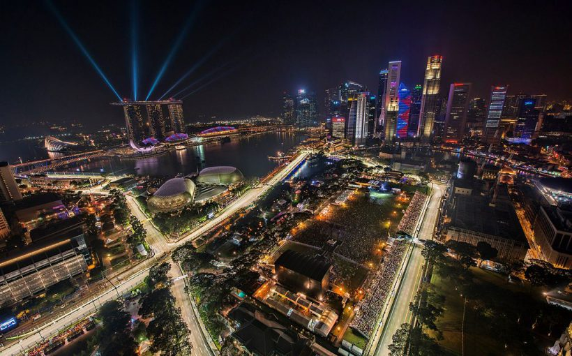 シンガポールF1サーキット 820x510 - 世界最大のカーレース