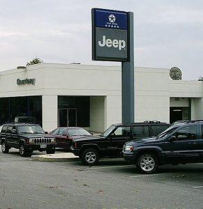 """メリーランド州ロックビルの自動車ディーラー 292x300 - 新車購入時に知っておきたい、営業マンの""""買わせる""""テクニック"""