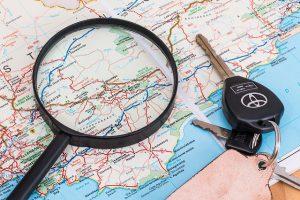 地図 300x200 - 夏に運転する際のコツ